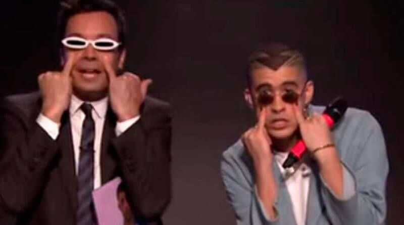 "Bad Bunny le tira con todo a Donald Trump en ""Tonight Show"" con Jimmy Fallon"