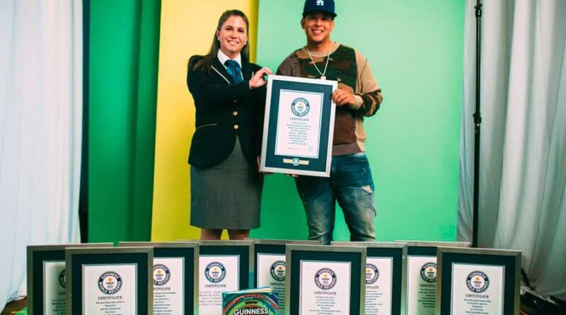 Guinness World Records Reconoce a Daddy Yankee