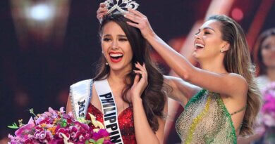 Miss Filipinas es coronada Miss Universo