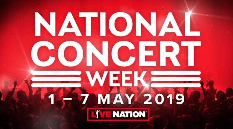 Live Nation anuncia la National Concert Week