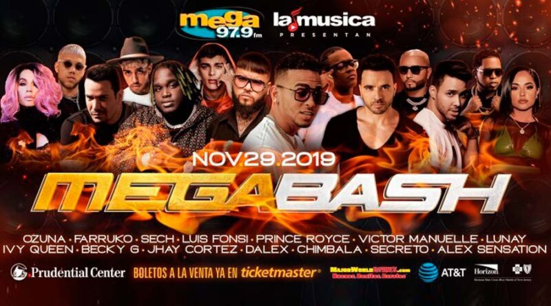 "LaMusica App, Mega 97.9FM y SBS Entertainment presentan ""MEGA BASH"""