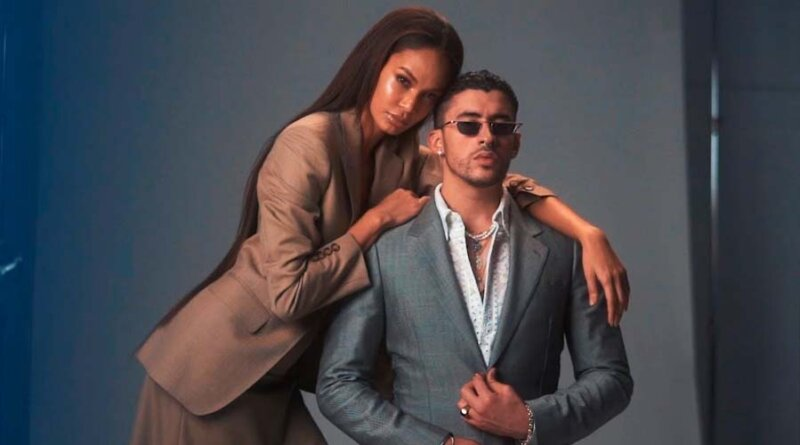 Bad Bunny y Joan Smalls protagonizan portada de la revista Vogue México