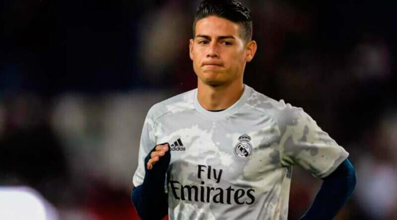 James Rodríguez fichará por el Everton